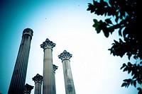 Roman temple  Cordoba  Andalusia, Spain