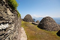 1000 years old remains from monastery so called ´beehives´ at Skellig Michael, Ireland