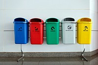 Brazil, Brasilia, Waste separation