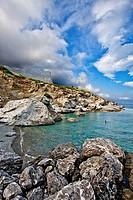 greece, amorgos, South: beach