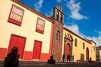Old church in San Cristóbal de La Laguna, Tenerife. Canary Islands, Spain