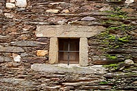 Small window at old house, Fundão, Portugal
