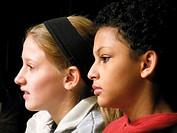 Middle School Girls, Wellsville, New York