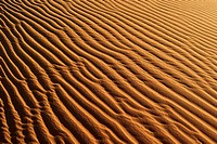 Sandripples on sanddunes at Erg Mehejibad, Immidir or Mouydir, Algeria, Sahara, North Africa