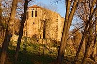 St. Julia Church of Vallfogona de Ripolles.
