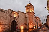 The Monastery of Saint Catherine, Arequipa, Peru.