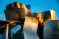 Guggenheim Museum in Bilbao. Basque Country. Spain. Europe.