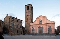 Civita di Bagnoregio. San Donato Church. Viterbo district, Lazio, Italy.