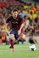 FC Barcelona. Leo Messi in action.