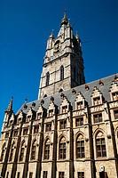 Belfry of Ghent (XIV Century), West Flanders, Belgium