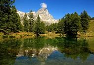 Cervino Matterhorn mountain, alps mountains, Breueil-Cervinia, Italy