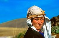 portrait of woman in east Turkey