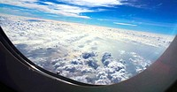 View from airliner