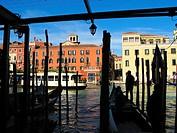 Grand Canal. Venice. Veneto. Italy.