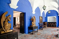 The ´casa del Moral´ around 1730. Arequipa. Peru. UNESCO World Heritage Site.