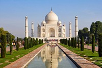 Taj Mahal, Agra, Uttar Pradesh, India, UNESCO World Heritage Site.