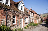 Turville Village Homes in Buckinghamshire - UK.