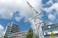 Kuehne & Nagel Office Buildings at HafenCity Hamburg, Germany.