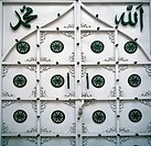 A detail of a mosque door in Udaipur in India.