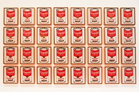 Campbell´s Soup cans by Andy Warhol. Museum of Modern Art. New York City. USA.