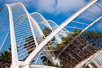 City of the Arts and the Sciences Valencia Spain.