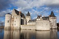 Castle of Sully-Sur-Loire, Loiret, France.