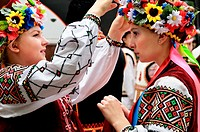The Vereteno Authentic Art Festival showcases Ukrainian traditions, Lviv, Ukraine.