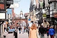Eastgate clock Chester England UK.