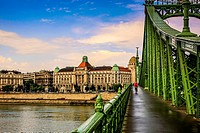 Gellert Astoria Hotel on the banks of the River Danube in Budapest.