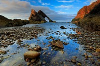 Bow Fiddle Rock, Scotland.