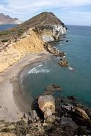 Los Amarillos beach, Cabo de Gata, Almería.