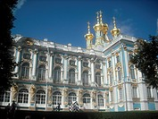 Catherine Palace in Tsarskoye Selo (Pushkin), near St. Petersburg. Russia