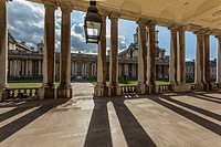 Old Royal Naval College in Greenwich, London, England.