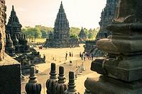 Prambanan Hindu temple. Central Java. Indonesia, Asia.