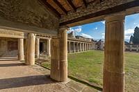 Ruins of Pompeii, Naples, Italy.