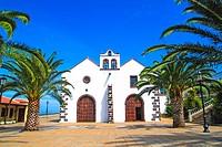 church of Santo Domingo municipality, La Palma island . Canary islands . Spain