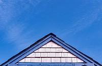 Cape Cod cottage detail.