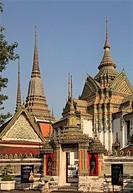 Thailand, Bangkok, Wat Pho, buddhist temple, monastery.