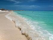 Cuban beach, Cuba.
