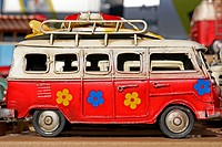 Campervan, miniatures classic car