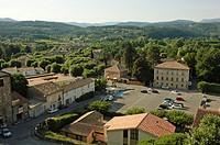 Joyeuse, a village in France, region Ardèche, Rhône-Alpes, Europe.