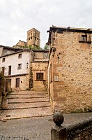 Iglesia de San Salvador, Sepúlveda. Conjunto histórico. Segovia province. Castile-Leon. Spain.