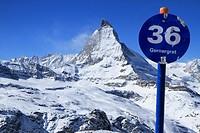 Matterhorn, Zermatt, Alps, Switzerland.