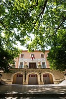 Town Hall building, Fontaine-de-Vaucluse, Vaucluse, 84, Provence-Alpes-Côte d´Azur, France, Europe.