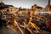 Bikes parking, Bruges, Belgium