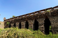 Cambodia, Spean Praptos bridge, the longest bridge in corbelled construction, 86 meters, dated 12 th. century.