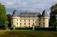France, Indre et Loire, Loire Valley on the world Heritage List of UNESCO, castle of Islette, dated 16 th. century.