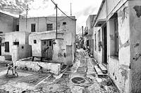 Paros white houses, Paros, Cyclades, Greece, Europe