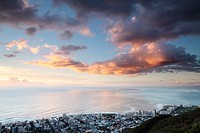Green Point at Sunset, Cape Town, South Africa.