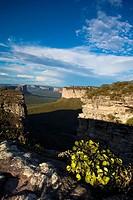 Chapada Diamantina, view from the Morro di Pai Inacio, Bahia, Brazil